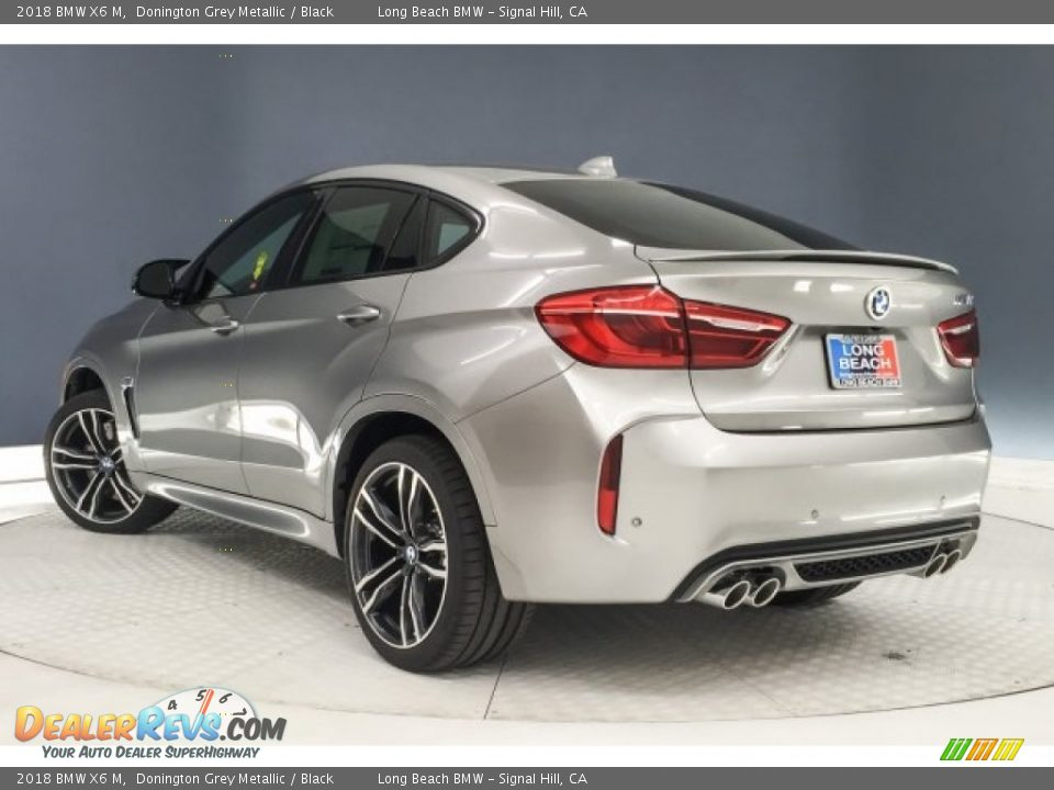 2018 BMW X6 M Donington Grey Metallic / Black Photo #3