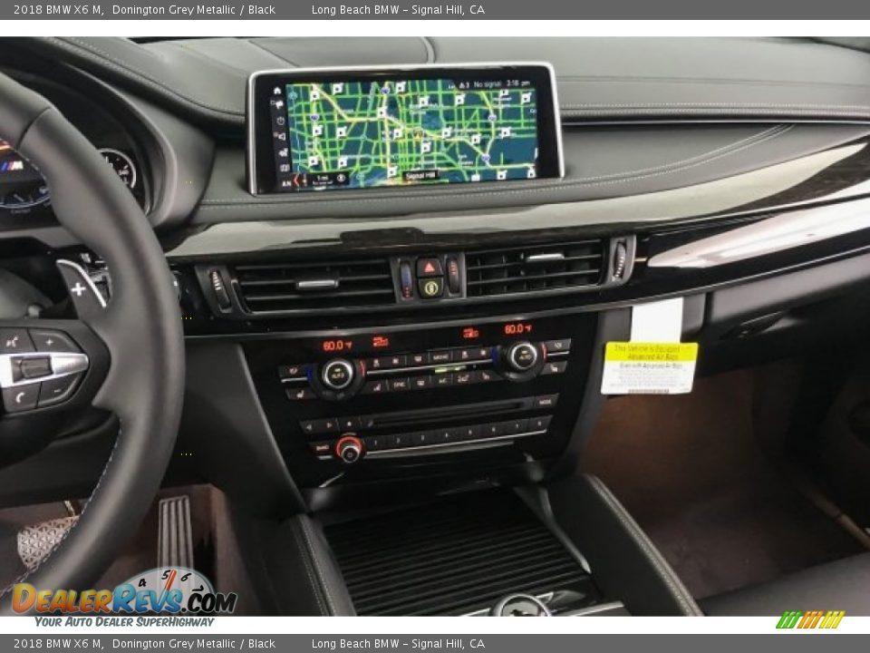 2018 BMW X6 M Donington Grey Metallic / Black Photo #6