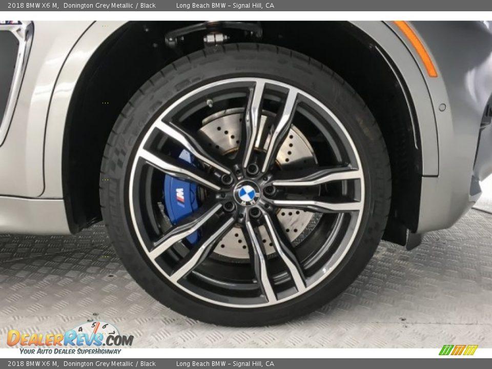 2018 BMW X6 M Donington Grey Metallic / Black Photo #9