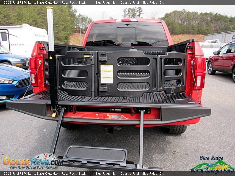 2018 Ford F150 Lariat SuperCrew 4x4 Race Red / Black Photo #14