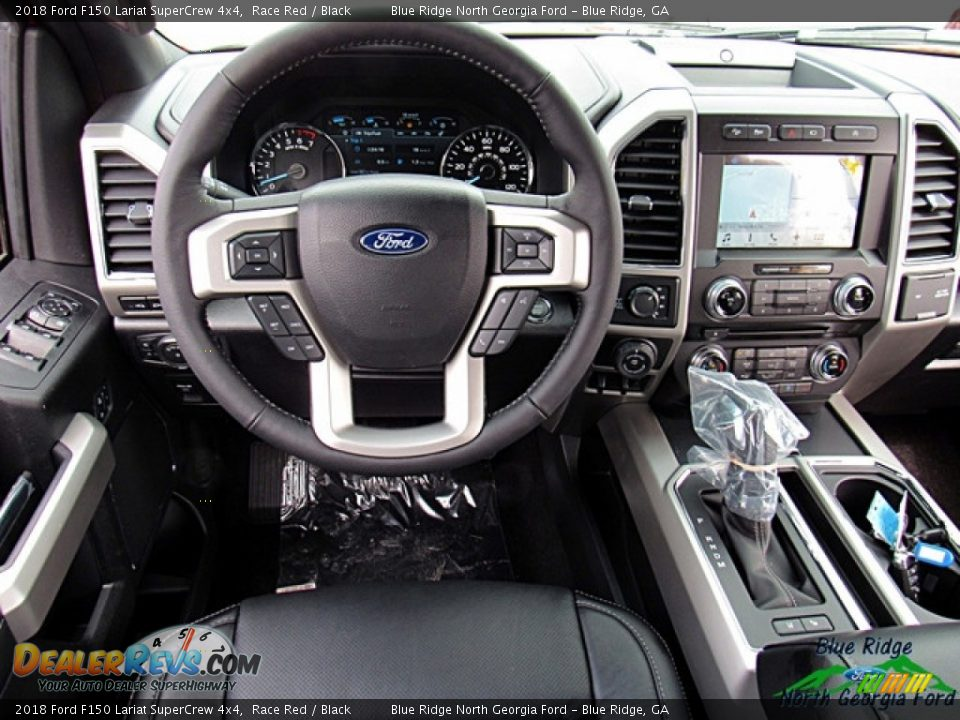2018 Ford F150 Lariat SuperCrew 4x4 Race Red / Black Photo #27