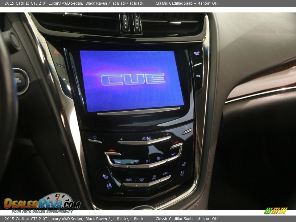 2015 Cadillac CTS 2.0T Luxury AWD Sedan Black Raven / Jet Black/Jet Black Photo #10