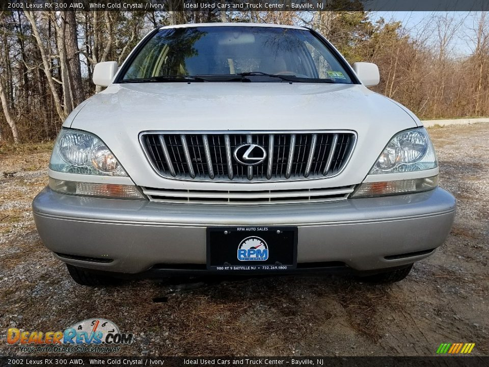 2002 Lexus RX 300 AWD White Gold Crystal / Ivory Photo #2