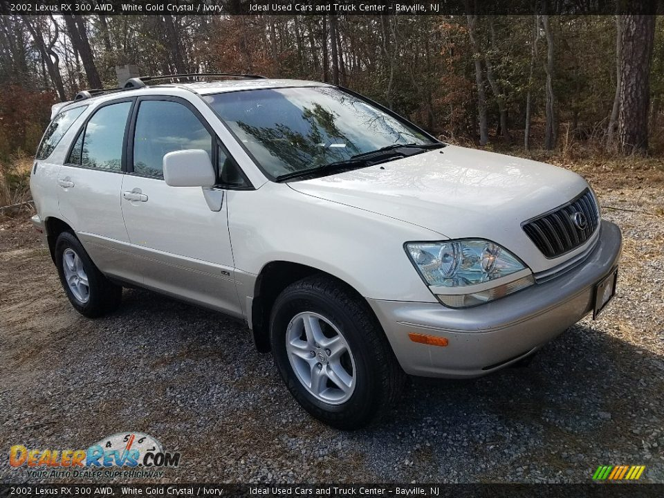 2002 Lexus RX 300 AWD White Gold Crystal / Ivory Photo #3