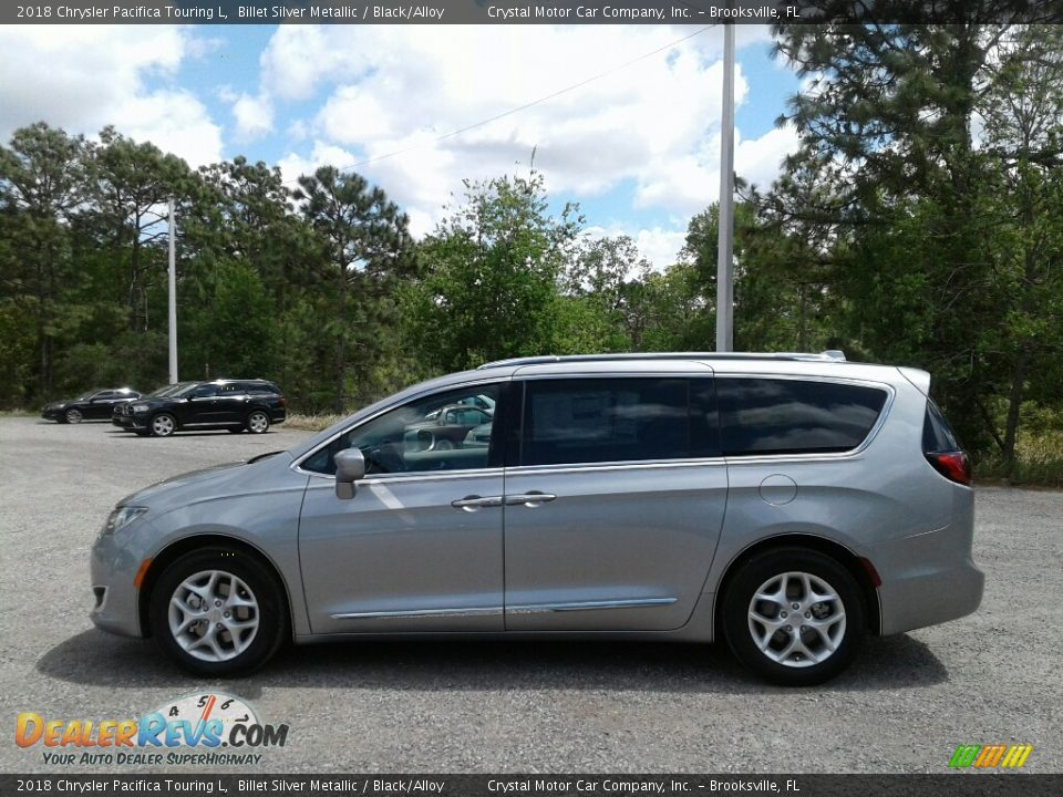 2018 Chrysler Pacifica Touring L Billet Silver Metallic / Black/Alloy Photo #2