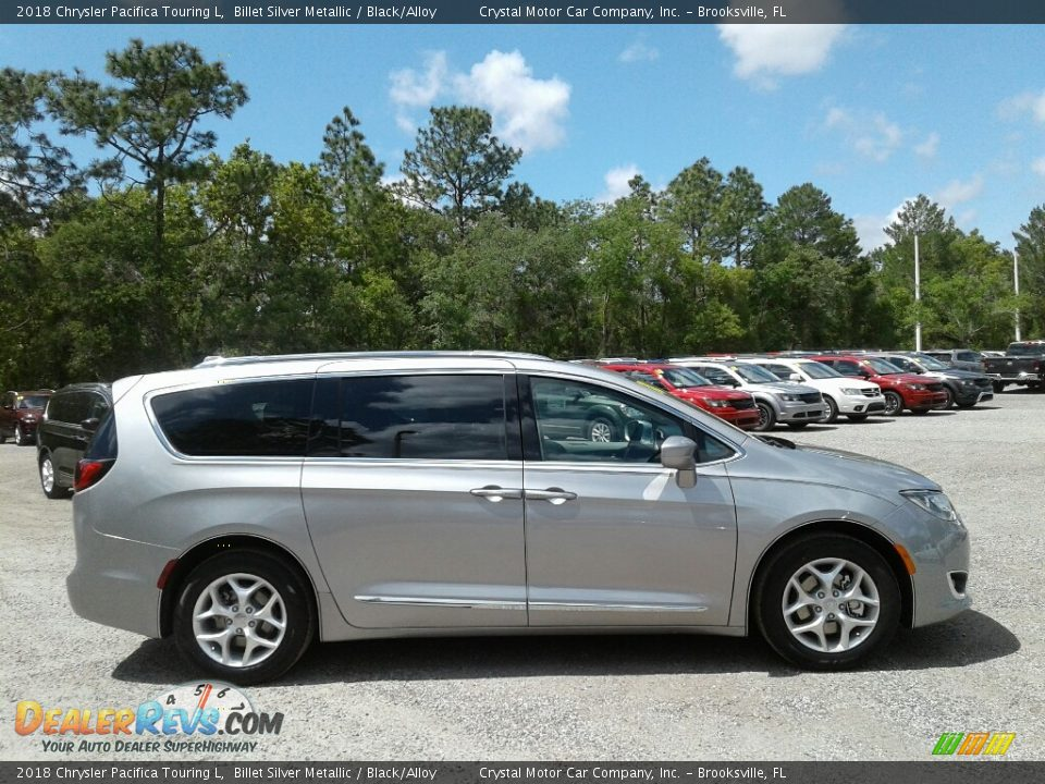 2018 Chrysler Pacifica Touring L Billet Silver Metallic / Black/Alloy Photo #6