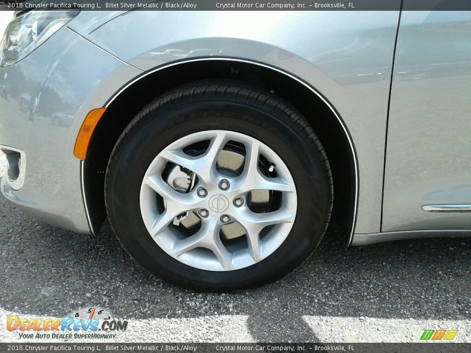2018 Chrysler Pacifica Touring L Billet Silver Metallic / Black/Alloy Photo #21