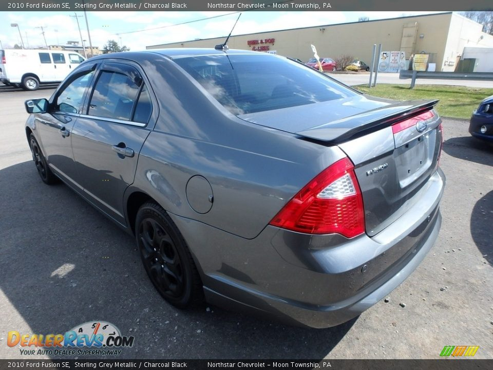 2010 Ford Fusion SE Sterling Grey Metallic / Charcoal Black Photo #2