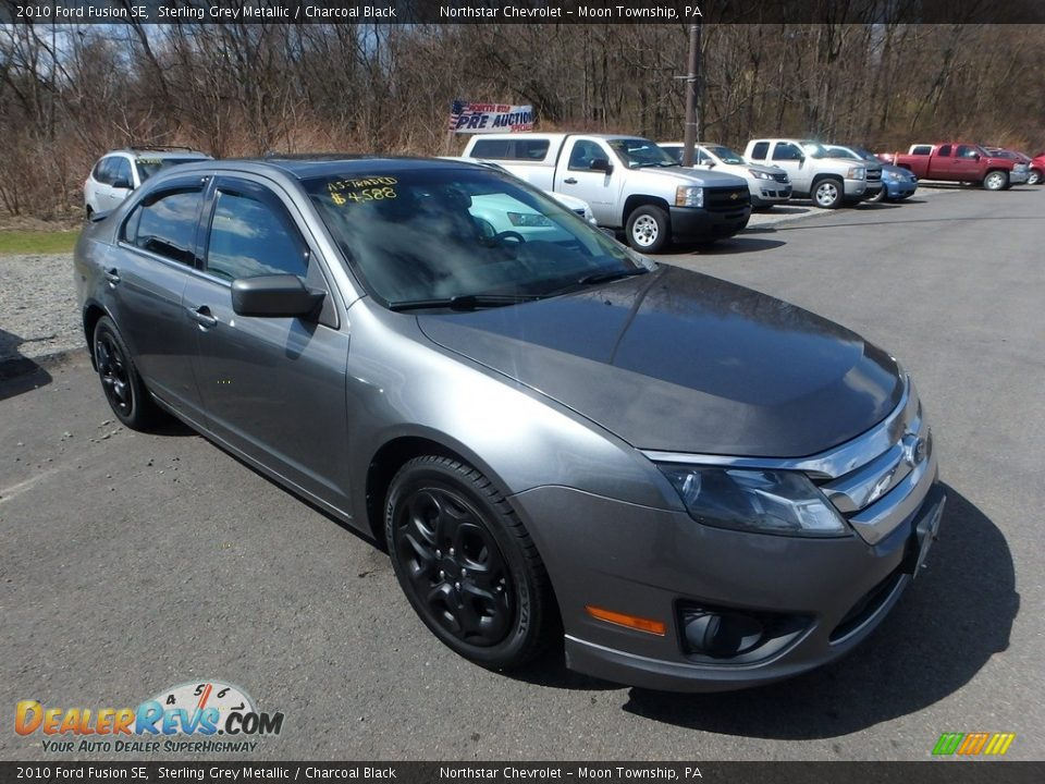 2010 Ford Fusion SE Sterling Grey Metallic / Charcoal Black Photo #5