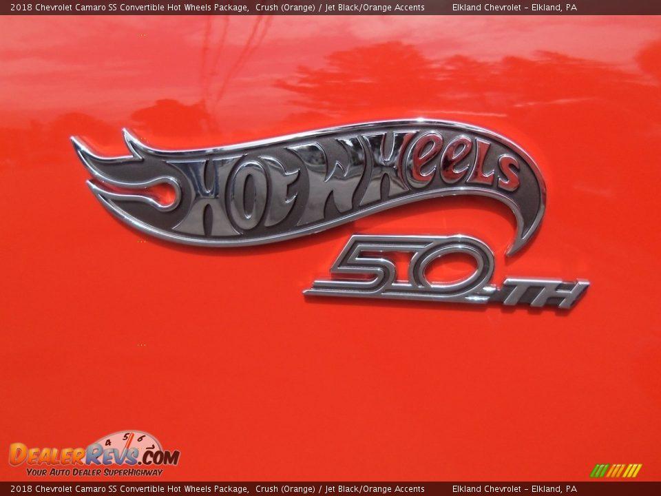 2018 Chevrolet Camaro SS Convertible Hot Wheels Package Logo Photo #30