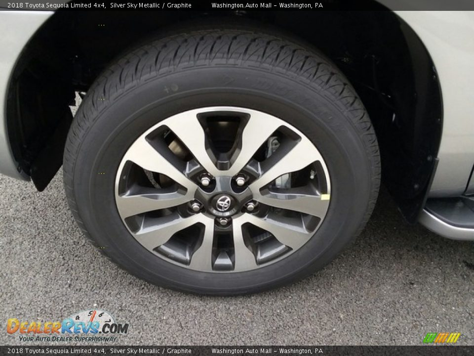 2018 Toyota Sequoia Limited 4x4 Wheel Photo #6