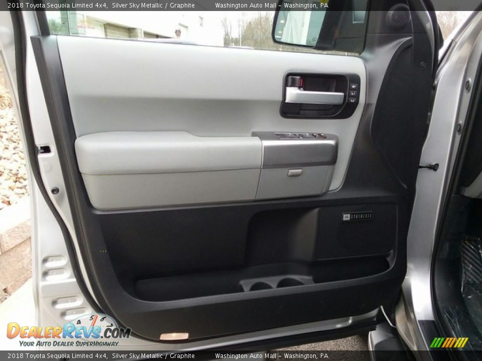 Door Panel of 2018 Toyota Sequoia Limited 4x4 Photo #8