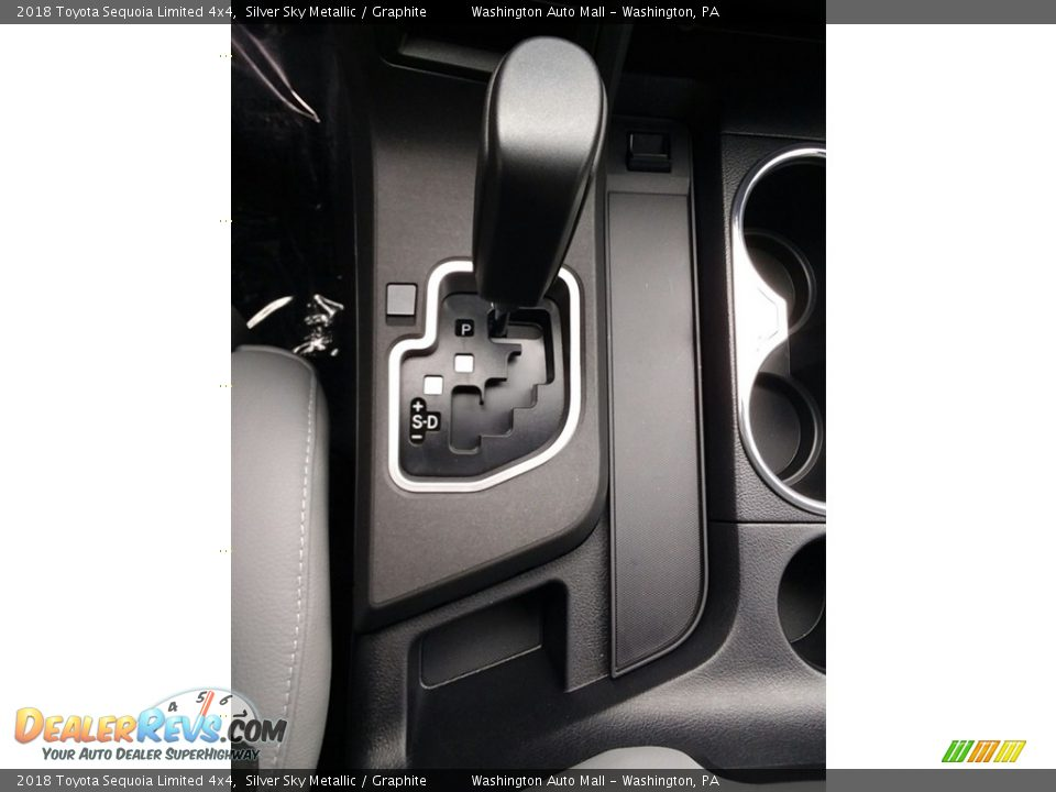 2018 Toyota Sequoia Limited 4x4 Shifter Photo #20