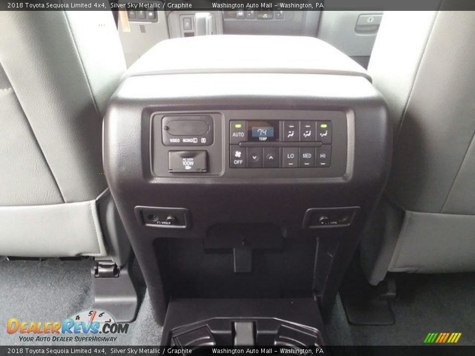 Controls of 2018 Toyota Sequoia Limited 4x4 Photo #25