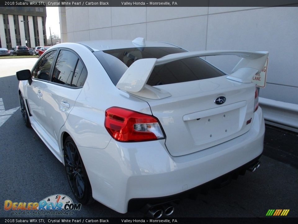 Crystal White Pearl 2018 Subaru WRX STI Photo #3