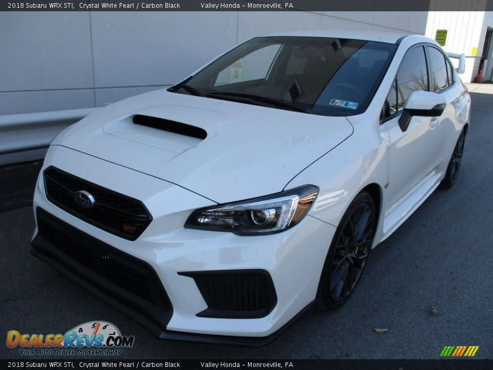 Crystal White Pearl 2018 Subaru WRX STI Photo #9