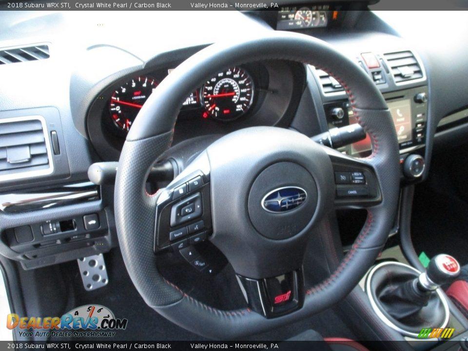 2018 Subaru WRX STI Steering Wheel Photo #13