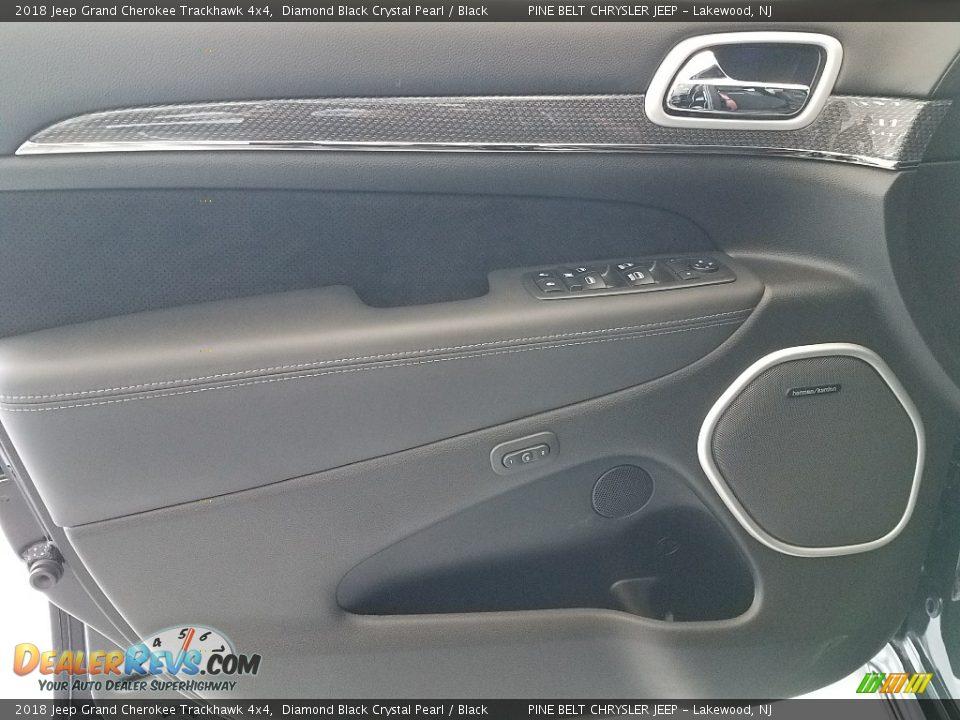 Door Panel of 2018 Jeep Grand Cherokee Trackhawk 4x4 Photo #9