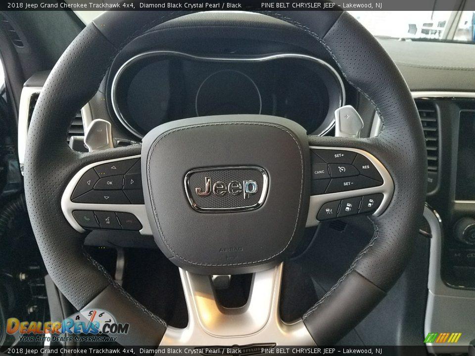2018 Jeep Grand Cherokee Trackhawk 4x4 Steering Wheel Photo #13
