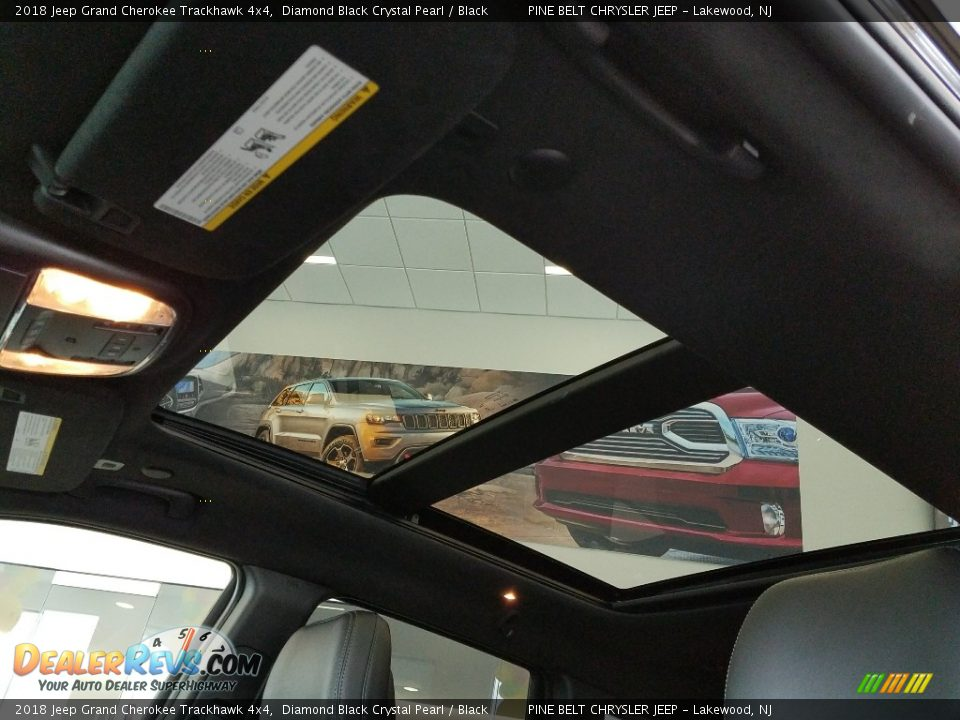 Sunroof of 2018 Jeep Grand Cherokee Trackhawk 4x4 Photo #15