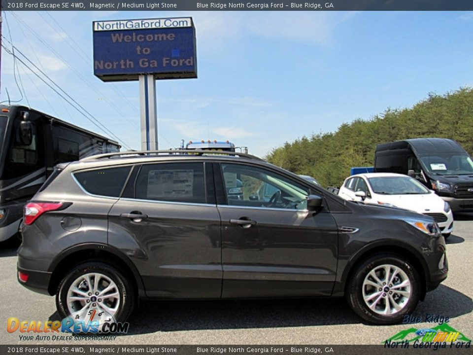 2018 Ford Escape SE 4WD Magnetic / Medium Light Stone Photo #6