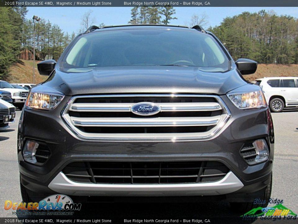 2018 Ford Escape SE 4WD Magnetic / Medium Light Stone Photo #8