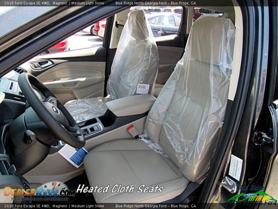 2018 Ford Escape SE 4WD Magnetic / Medium Light Stone Photo #10