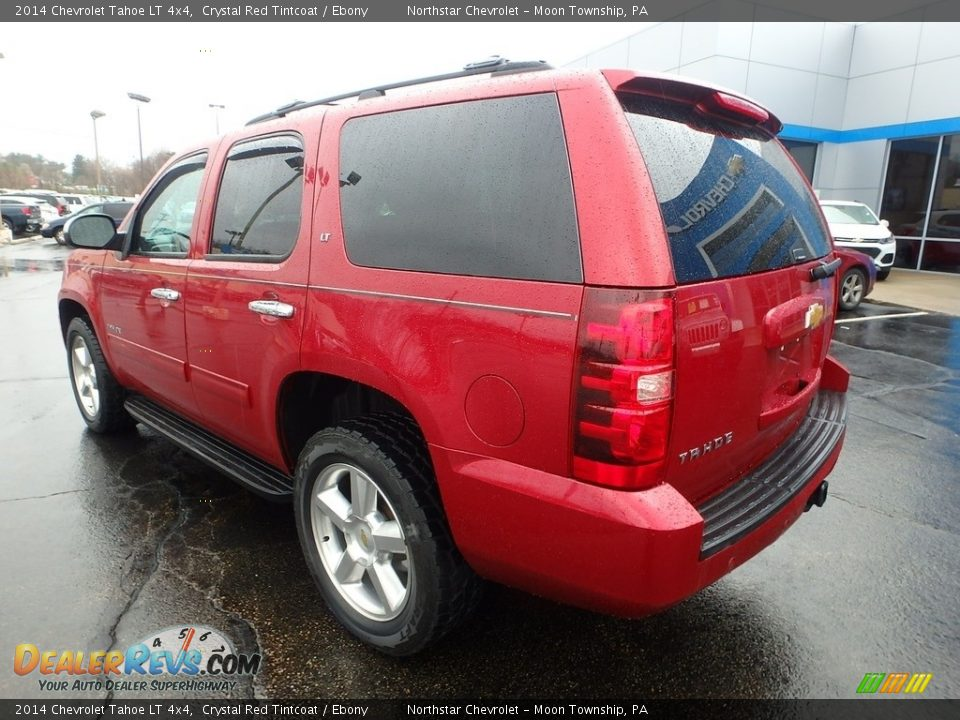 2014 Chevrolet Tahoe LT 4x4 Crystal Red Tintcoat / Ebony Photo #4