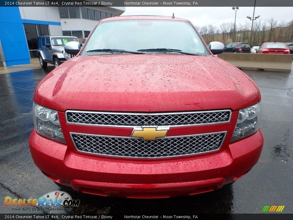 2014 Chevrolet Tahoe LT 4x4 Crystal Red Tintcoat / Ebony Photo #13
