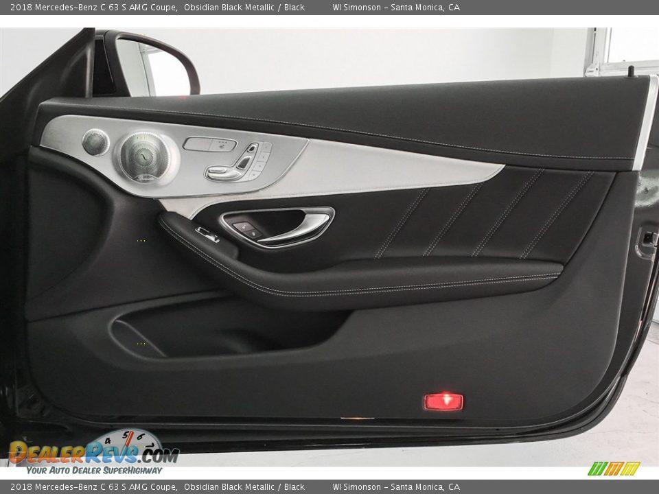 Door Panel of 2018 Mercedes-Benz C 63 S AMG Coupe Photo #30