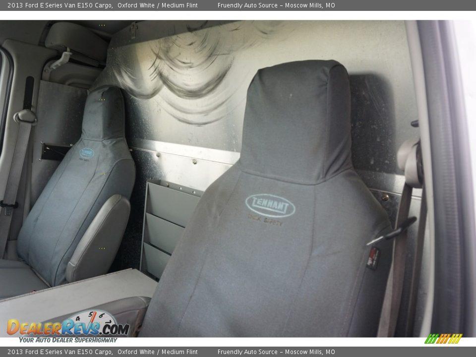 2013 Ford E Series Van E150 Cargo Oxford White / Medium Flint Photo #16