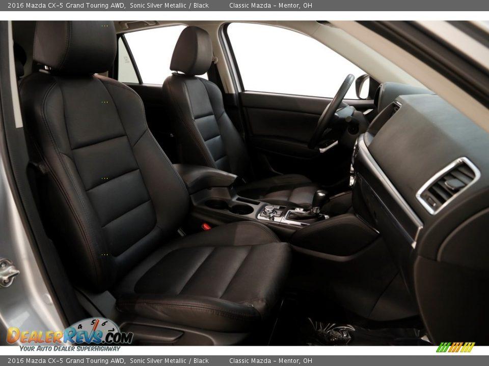 2016 Mazda CX-5 Grand Touring AWD Sonic Silver Metallic / Black Photo #18