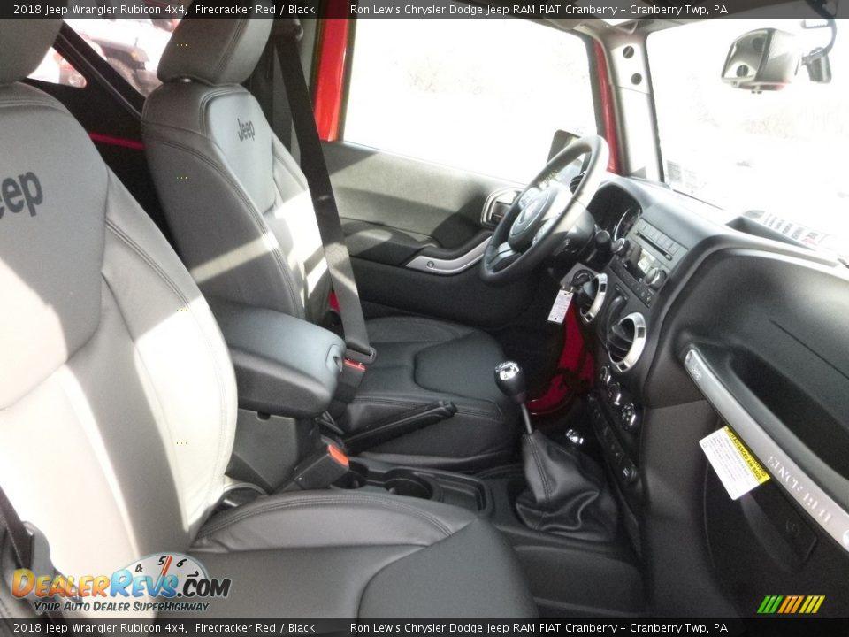 2018 Jeep Wrangler Rubicon 4x4 Firecracker Red / Black Photo #10