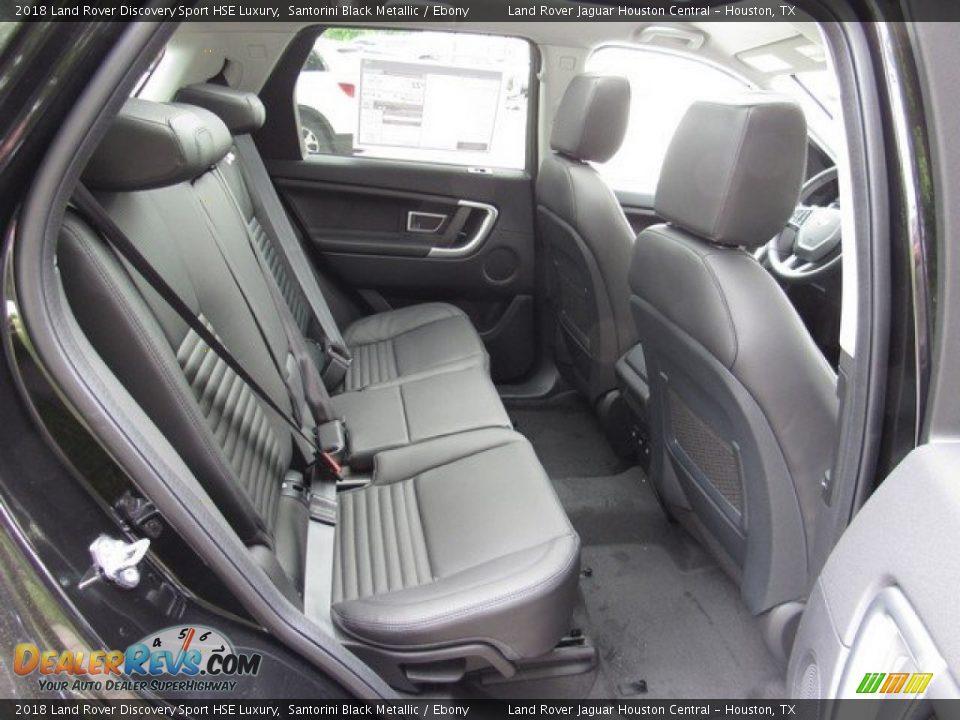 2018 Land Rover Discovery Sport HSE Luxury Santorini Black Metallic / Ebony Photo #19