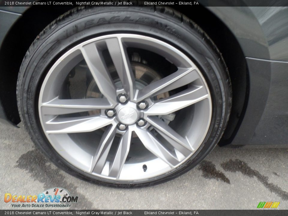 2018 Chevrolet Camaro LT Convertible Wheel Photo #18