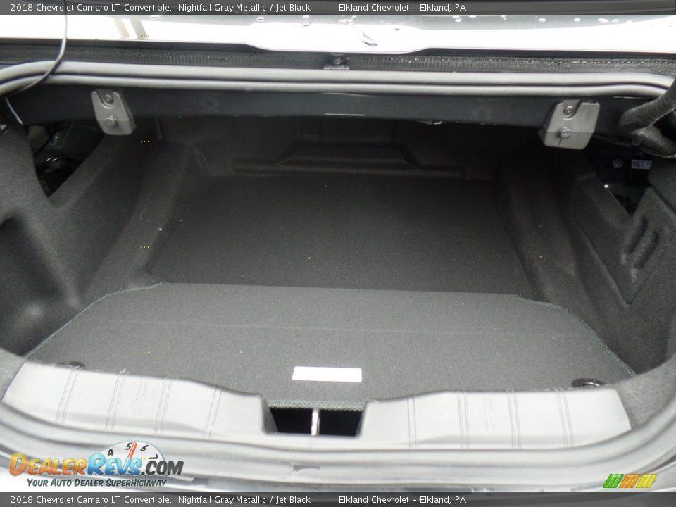 2018 Chevrolet Camaro LT Convertible Trunk Photo #20