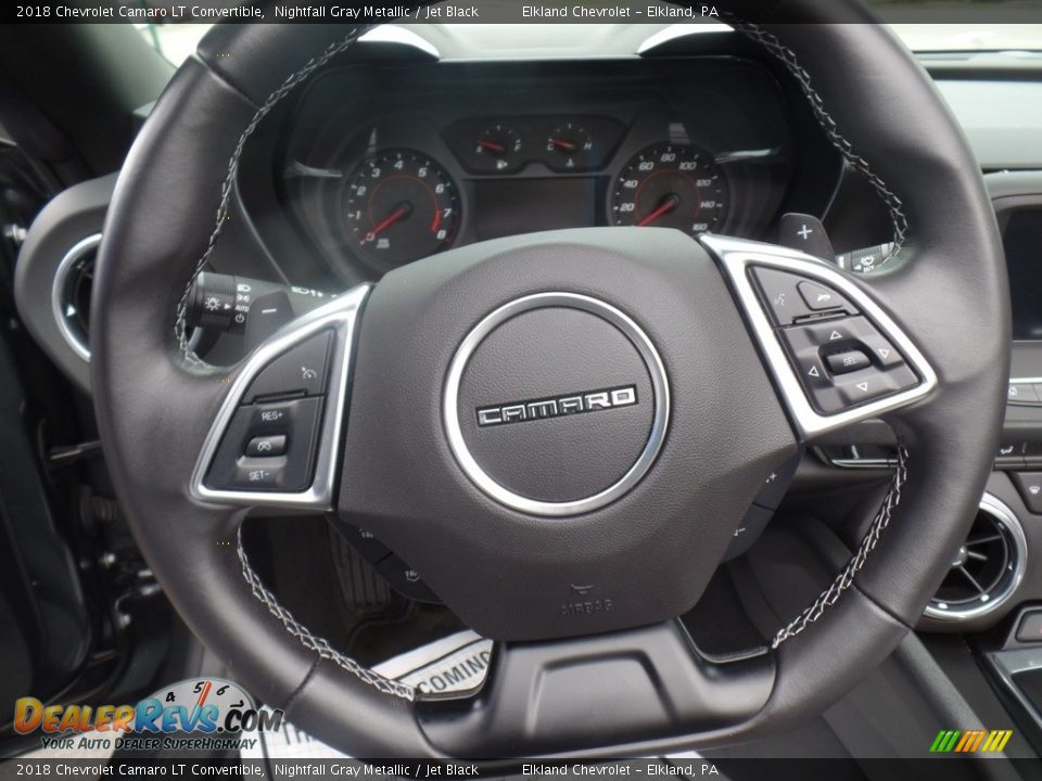 2018 Chevrolet Camaro LT Convertible Steering Wheel Photo #30