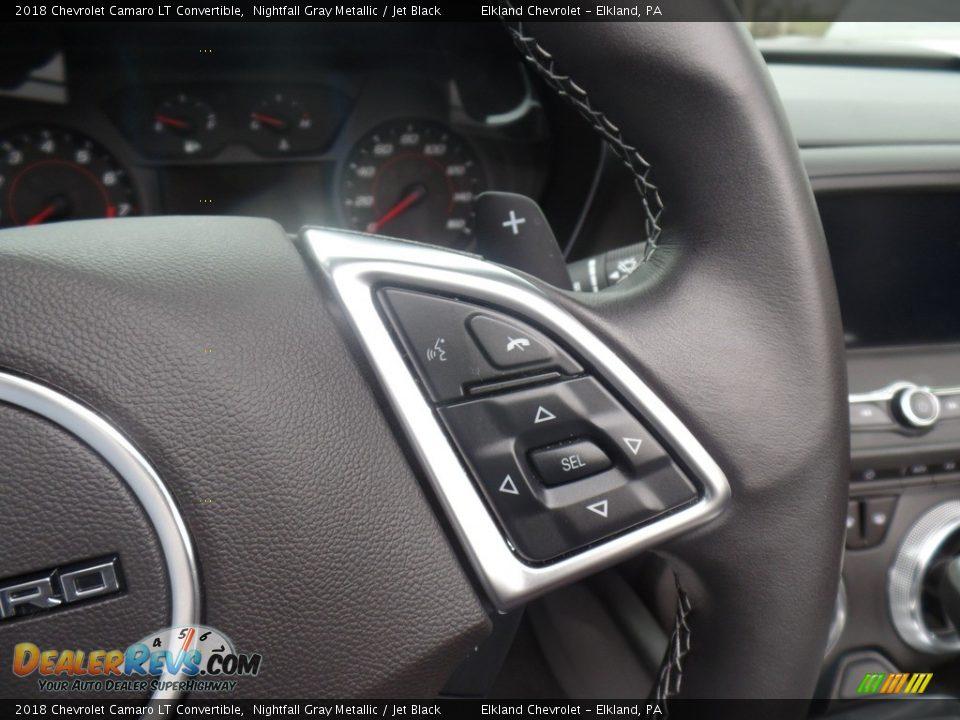 2018 Chevrolet Camaro LT Convertible Steering Wheel Photo #31