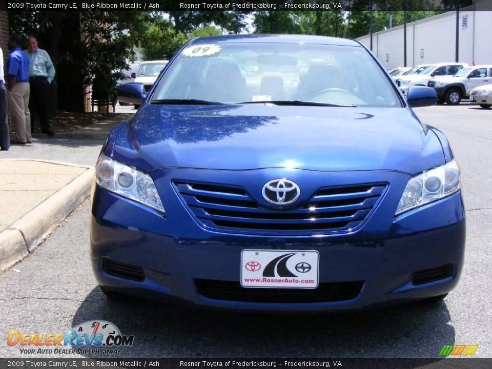 2009 Toyota Camry Le Blue Ribbon Metallic Ash Photo 17