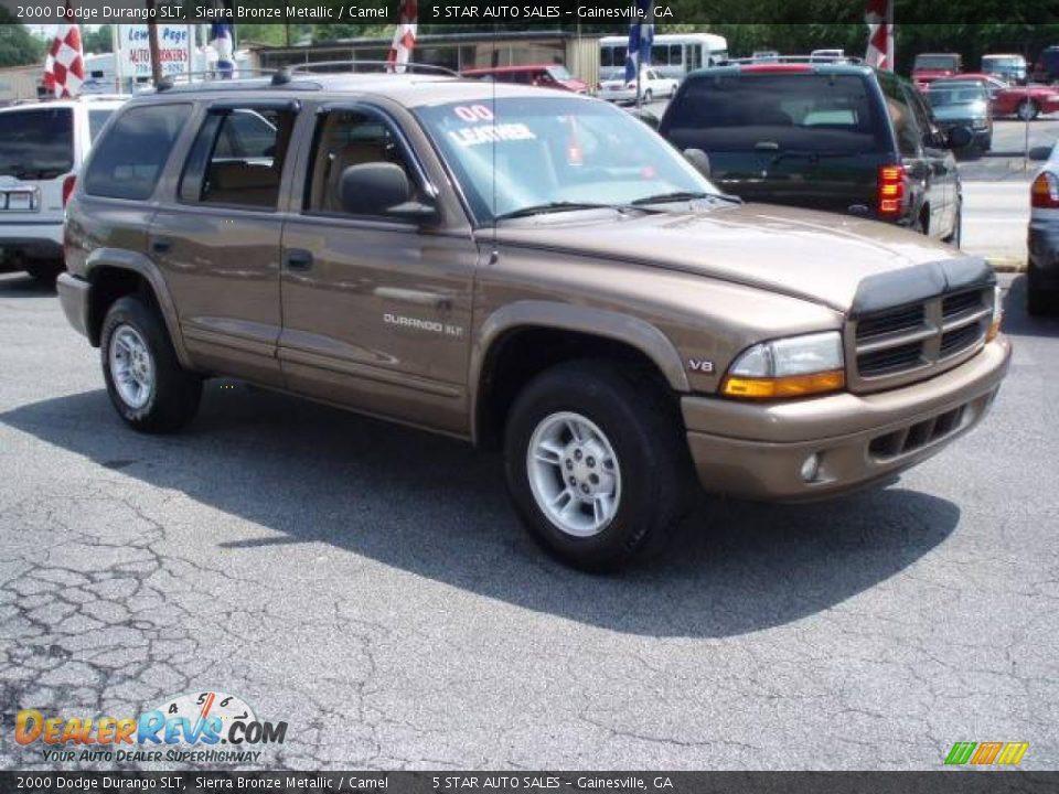 2000 Dodge Durango Slt Sierra Bronze Metallic Camel