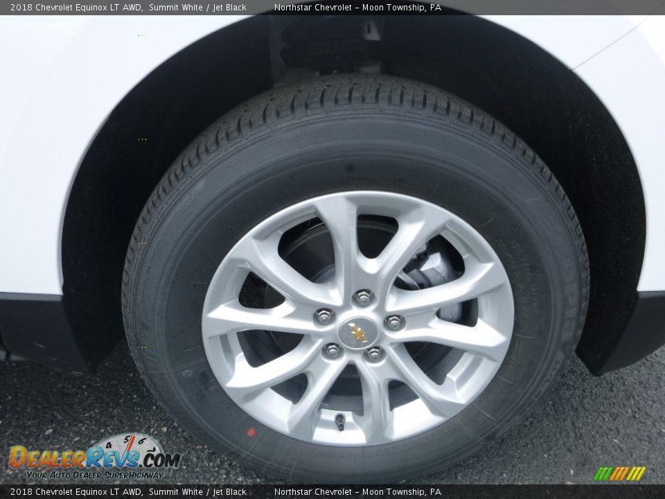 2018 Chevrolet Equinox LT AWD Summit White / Jet Black Photo #9