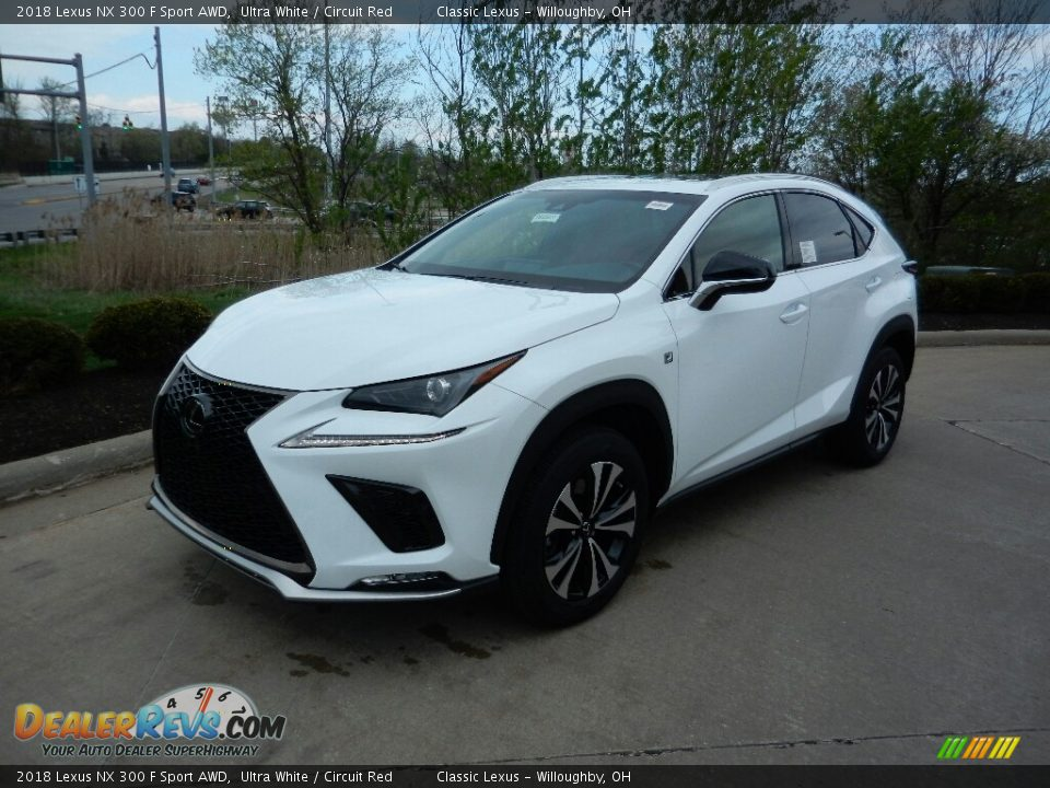 Front 3/4 View of 2018 Lexus NX 300 F Sport AWD Photo #1