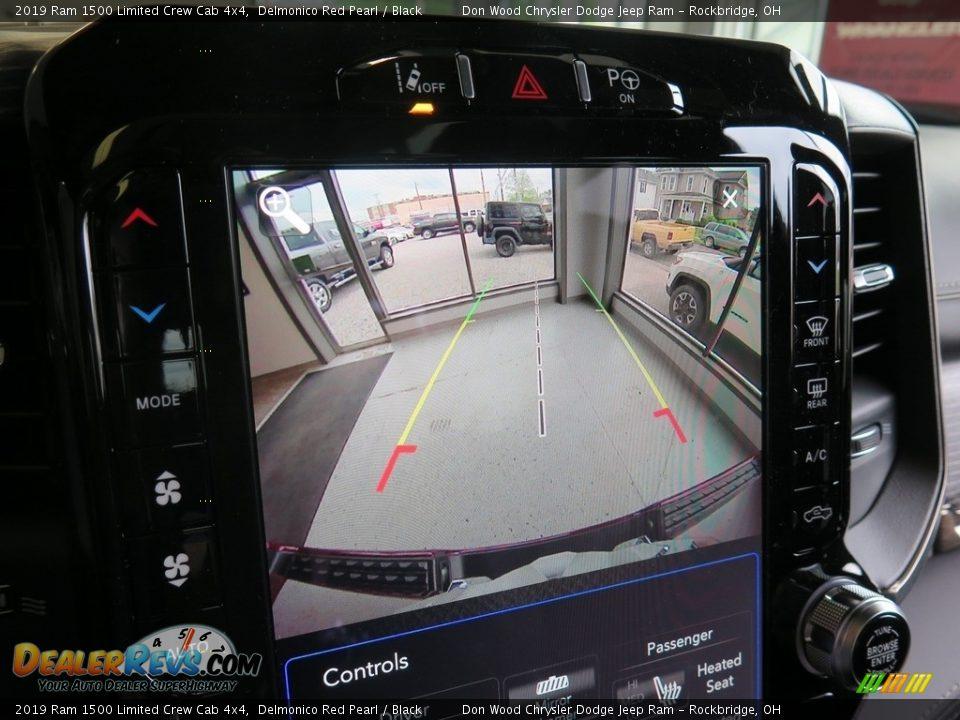 2019 Ram 1500 Limited Crew Cab 4x4 Delmonico Red Pearl / Black Photo #5
