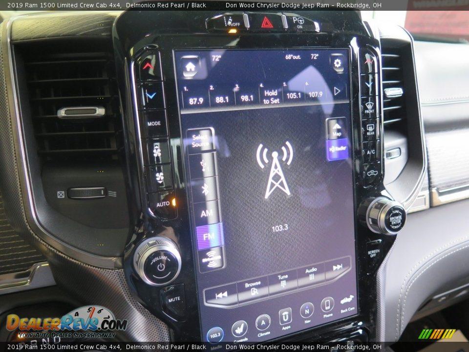 2019 Ram 1500 Limited Crew Cab 4x4 Delmonico Red Pearl / Black Photo #21