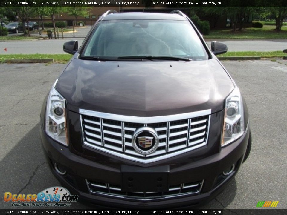 2015 Cadillac SRX Luxury AWD Terra Mocha Metallic / Light Titanium/Ebony Photo #5