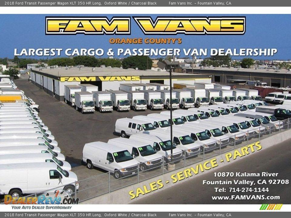 Dealer Info of 2018 Ford Transit Passenger Wagon XLT 350 HR Long Photo #18