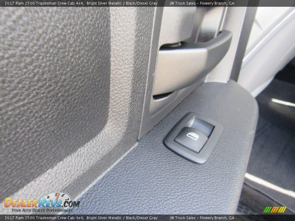 2017 Ram 2500 Tradesman Crew Cab 4x4 Bright Silver Metallic / Black/Diesel Gray Photo #19