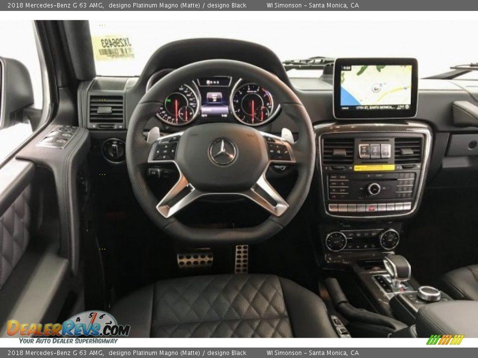 2018 Mercedes-Benz G 63 AMG designo Platinum Magno (Matte) / designo Black Photo #4