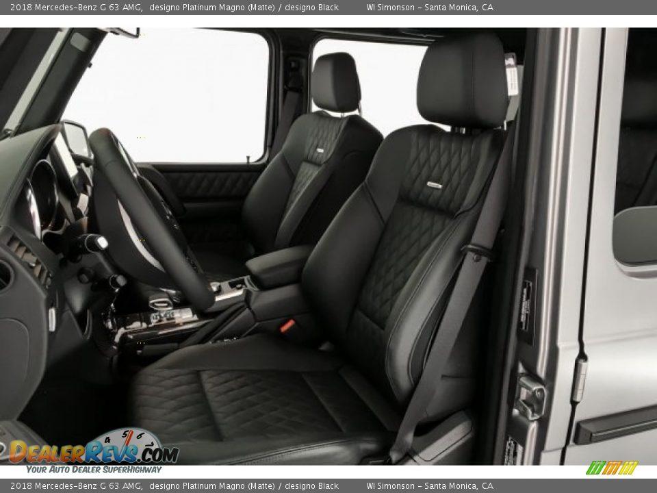 2018 Mercedes-Benz G 63 AMG designo Platinum Magno (Matte) / designo Black Photo #14