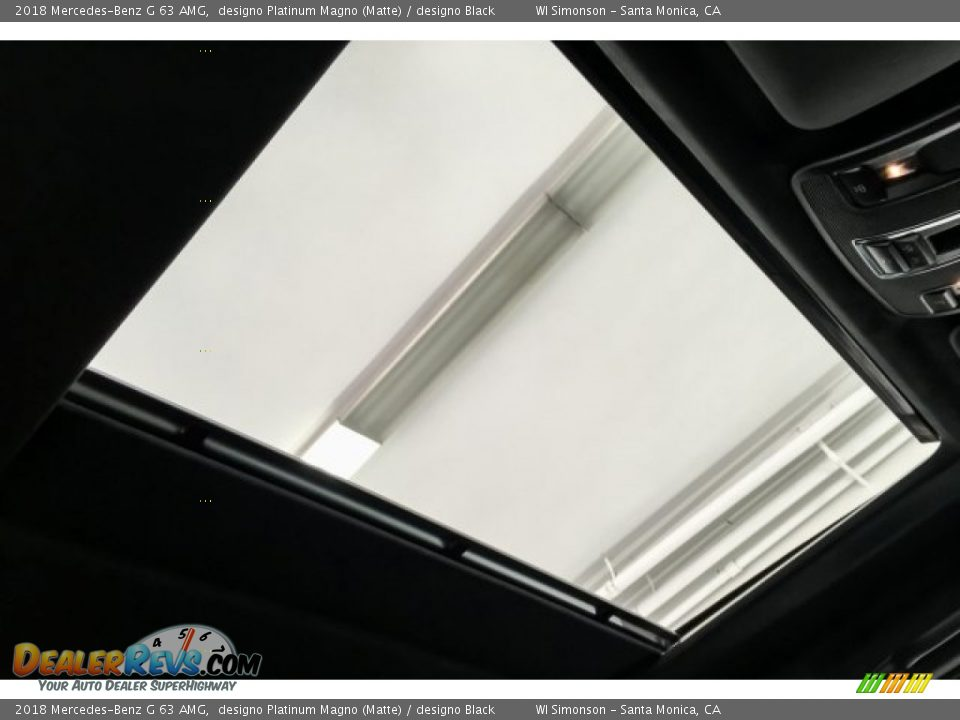 2018 Mercedes-Benz G 63 AMG designo Platinum Magno (Matte) / designo Black Photo #28